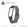 Ремешок Armorstandart Metal Band Link 603 для Xiaomi Mi Band 6/5 Titanium Gray мал.4