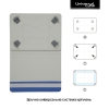 Чехол для планшетов Armorstandart Silicone Hooks 10 Blue (ARM59079) мал.2