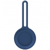 Чехол-брелок ArmorStandart для AirTag Silicone Long Loop Dark Blue (ARM58947) мал.1