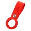 Чехол-брелок ArmorStandart для AirTag Silicone Loop with Button Red (ARM58925) мал.1