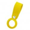 Чехол-брелок ArmorStandart для AirTag Silicone Loop with Button Yellow (ARM58926) мал.1