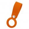 Чехол-брелок ArmorStandart для AirTag Silicone Loop with Button Orange (ARM59159) мал.1