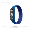 Ремешок ArmorStandart Braided Solo Loop для Xiaomi Mi Band 4/5/6 Blue size S мал.4