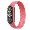 Ремешок ArmorStandart Braided Solo Loop для Xiaomi Mi Band 4/5/6 Pink size S мал.1