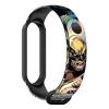 Ремешок ArmorStandart Superhero for Xiaomi Mi Band 6/5 Wolverine comix Black (ARM59265) мал.1