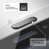 Защитное стекло ArmorStandart Ultrathin Clear Dustproof для Apple iPhone 12 Pro Max (ARM59576) мал.3