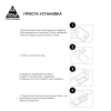 Защитное стекло ArmorStandart Pro для Nokia 3.4 Black (ARM59580) мал.6
