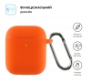 Airpods 2 Ultrathin Silicon case with hook Hermes (in box) мал.2