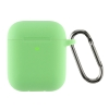 Airpods 2 Ultrathin Silicon case with hook Spearmint (in box) мал.1