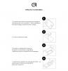 Защитное стекло Armorstandart Full Glue HD для Samsung A02 (A022) Black (ARM59732) мал.4